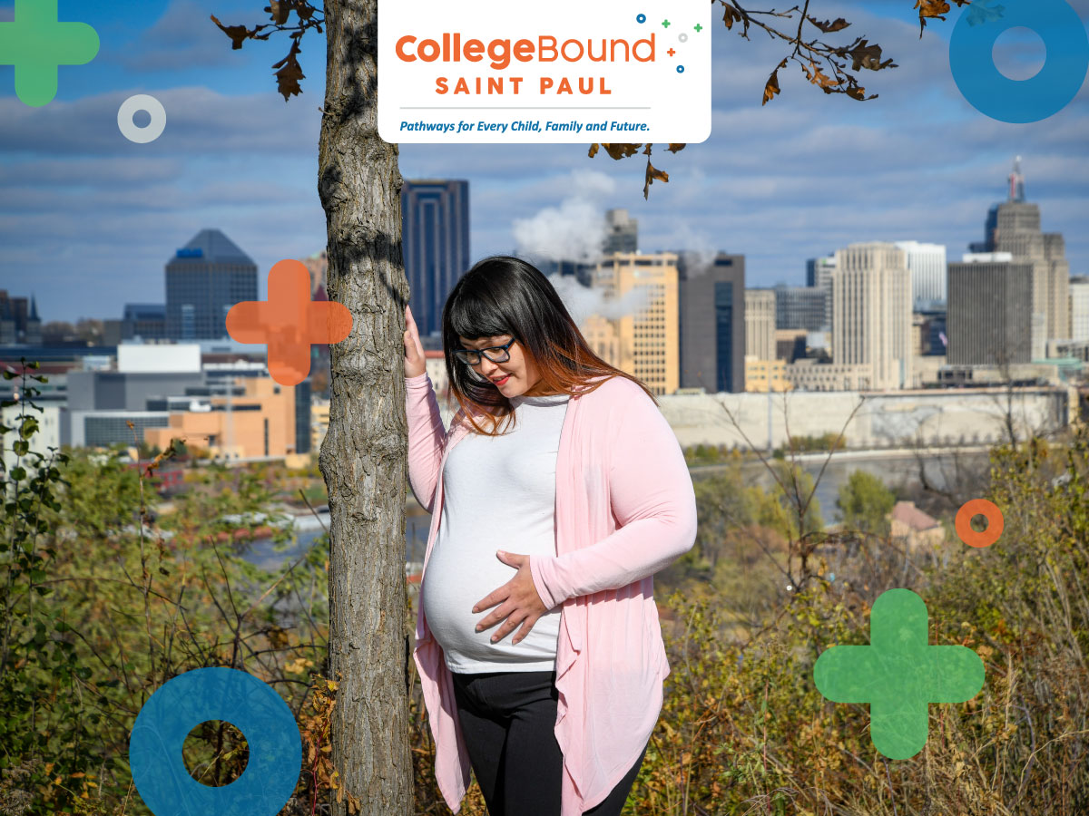 Hero Image: College Bound Saint Paul, Pathways for Every Child, Family, and Future.